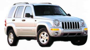 Jeep Liberty silver