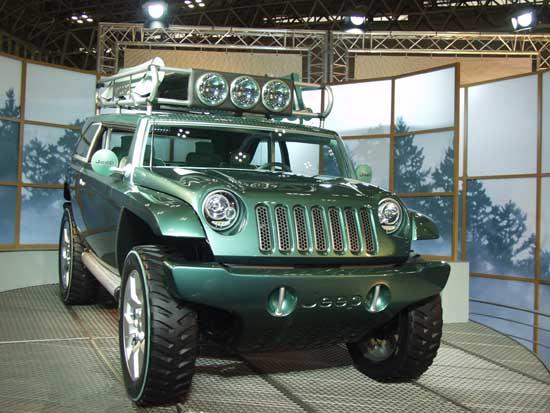 Jeep Willys II concept 2001 Tokyo