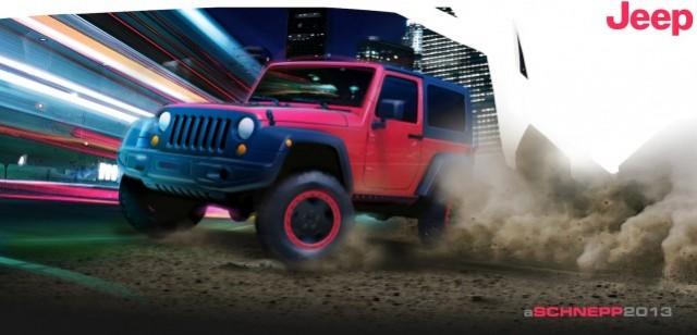 Jeep's Wrangler Slim concept - image: Chrysler Group LLC