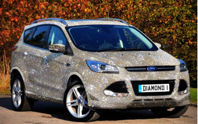 Jennings Ford Direct (UK) will encrust your car with diamonds ... for a price