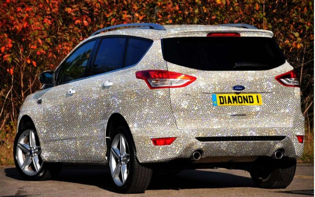 You Can Get Your Ford Encrusted With Diamonds In The UK