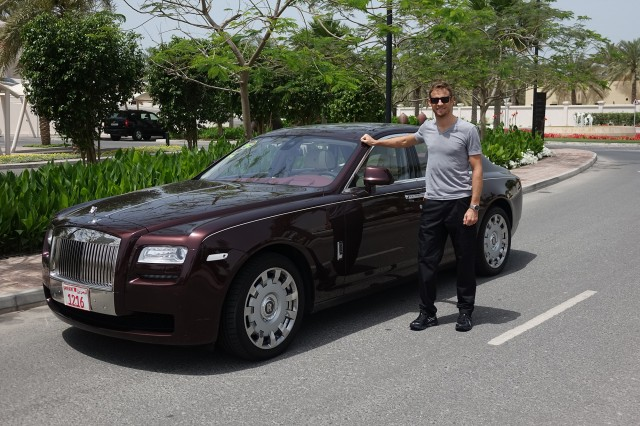 Jensen Button Rolls-Royce