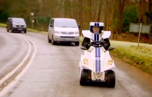 Jeremy Clarkson's P45 on Top Gear [Image: BBC]