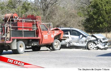 Jewel's Cadillac SRX Crash