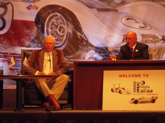 Jim Hall and Bobby Rahal - Anne Proffit photo
