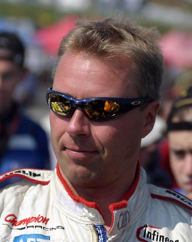 JJ Lehto at Petit Le Mans, 2004. Image: Wikipedia user Tomh009