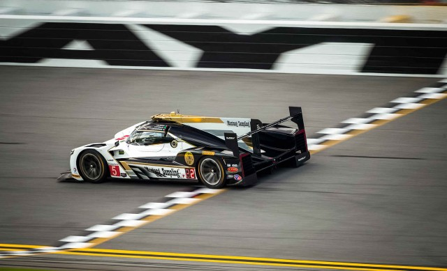 Joao Barbosa in the Cadillac DPi-V.R secures pole for 2017 24 Hours of Daytona