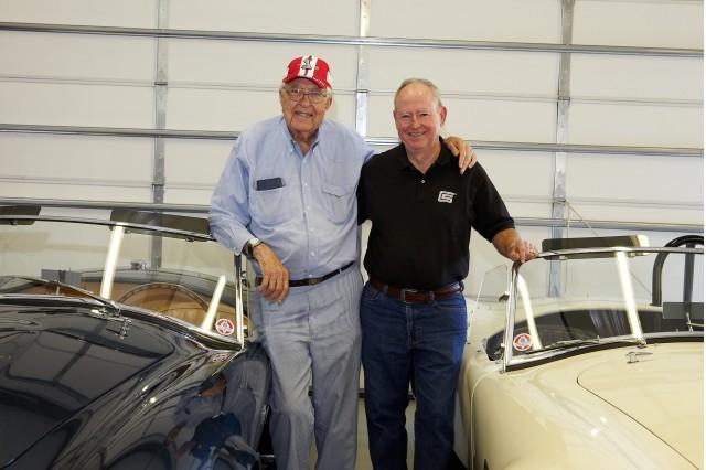 Joe McMurrey with Carroll Shelby