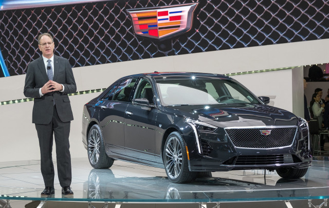 Cadillac president leaving company effective immediately