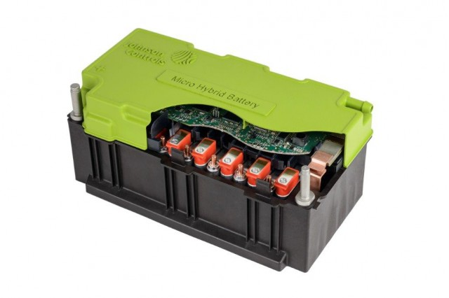 Johnson Controls 48 Volt Lithium Ion Micro Hybrid Battery