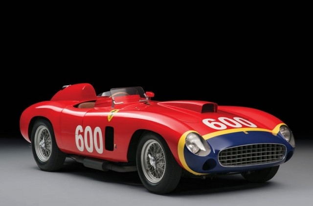 Juan Manual Fangio's 1956 Ferrari 290 MM by Scaglietti