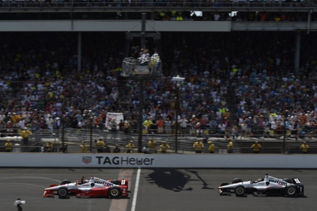 Juan Pablo Montoya, Indianapolis 500 May 24, 2015, Photo courtesy JPMontoya.com