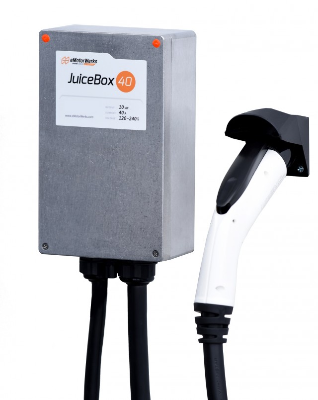 Juicebox Clic Edition 40 Electric Car Charging Station Evse