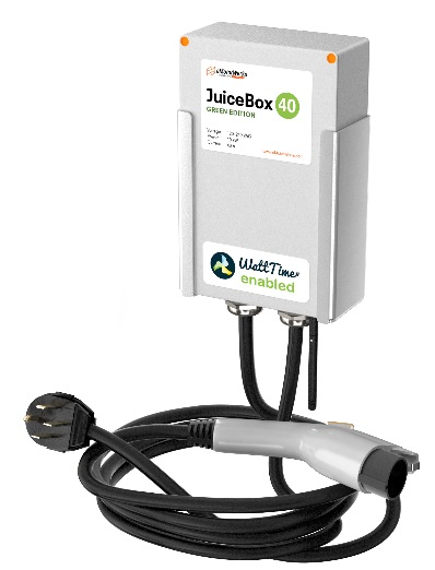 Juicebox electric-car charging station