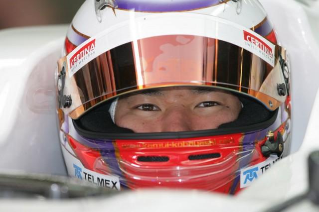 Kamui Kobayashi - Sauber F1 Team photo