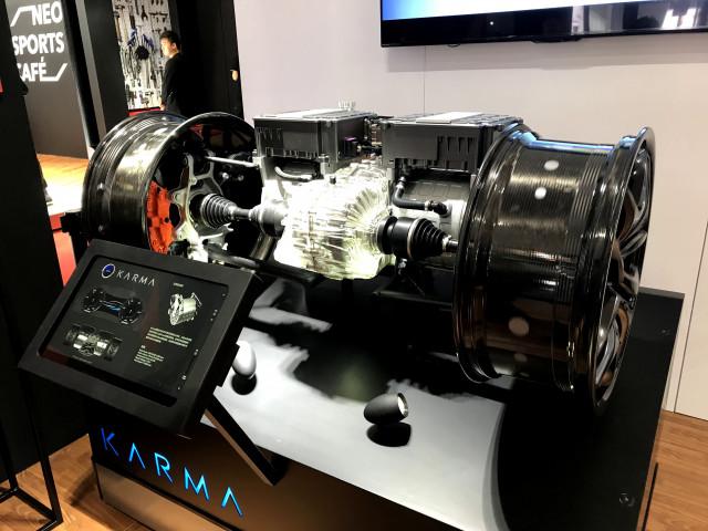 Karma Automotive powertrain