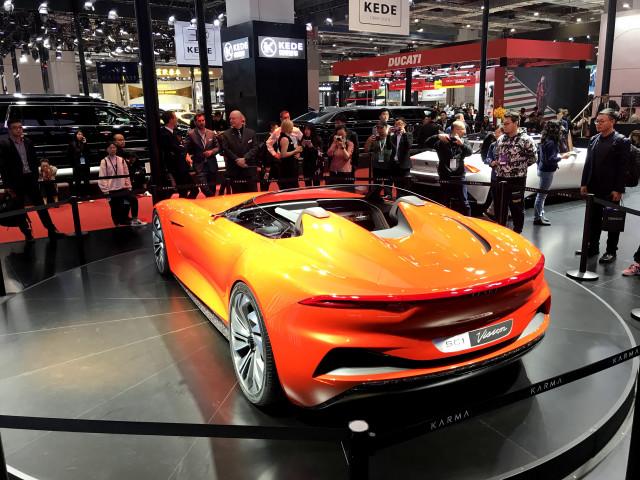 Karma SC1 Vision Concept - 2019 Shanghai auto show