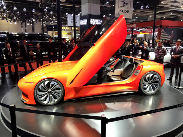Karma presents its electric-car vision to China and vies for partners