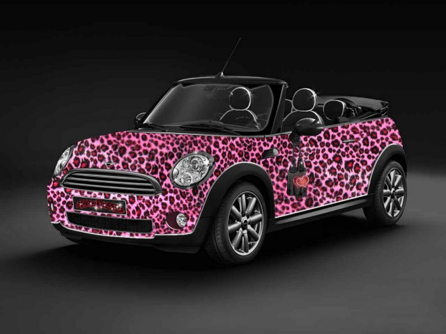 Kate Perry-style Life Ball MINI Convertible 2009