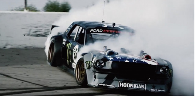 Ken Block's 1,400-hp Hoonicorn