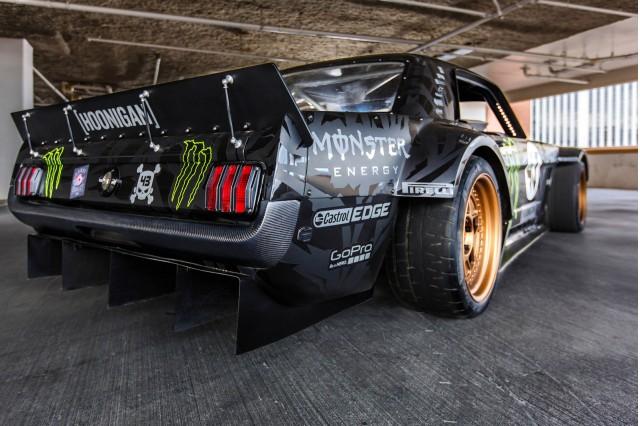 Ken Block's Hoonicorn RTR Ford Mustang, 2014 SEMA show
