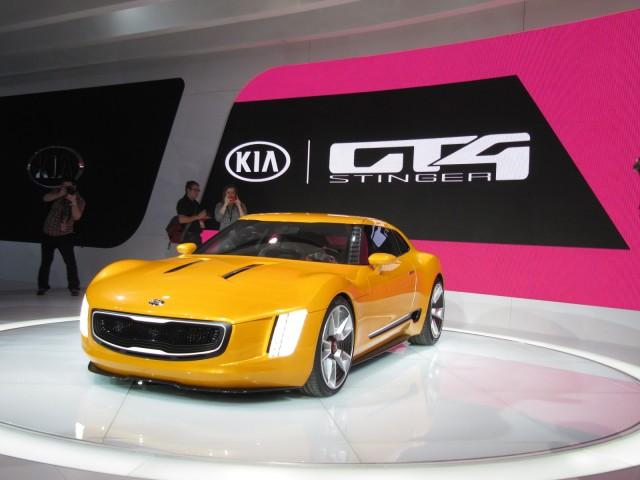 Kia Gt4 Stinger Concept At 2017 Detroit Auto Show