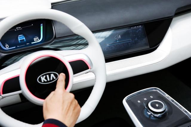 Kia Niro EV concept, 2018 Consumer Electronics Show