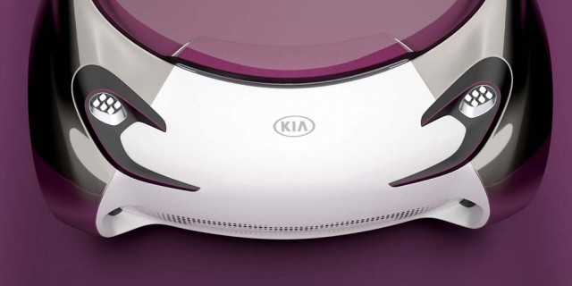 Kia Pop Concept, to be shown at the 2010 Paris Motor Show