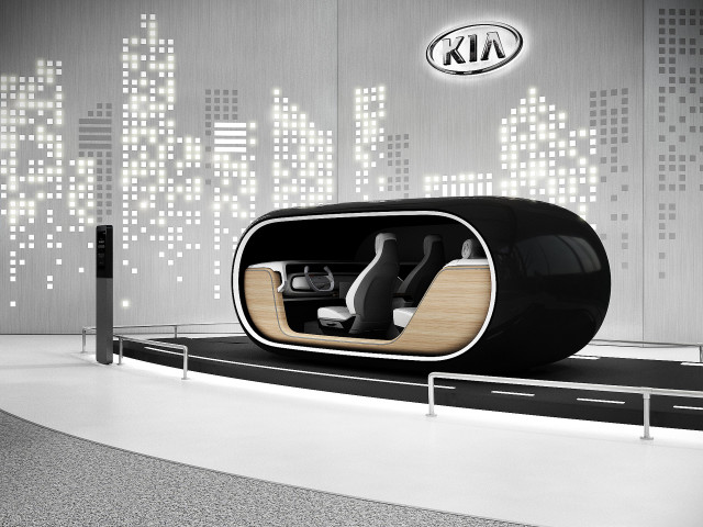 Kia READ (Real-time Emotion Adaptive Driving) concept debuting at 2019 CES