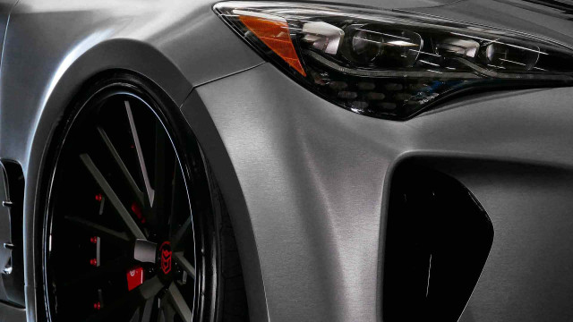 Custom 2019 Kia Stinger GT debuting at 2018 SEMA show
