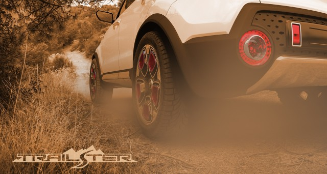 Kia Trail'ster Concept teaser image, 2015 Chicago Auto Show