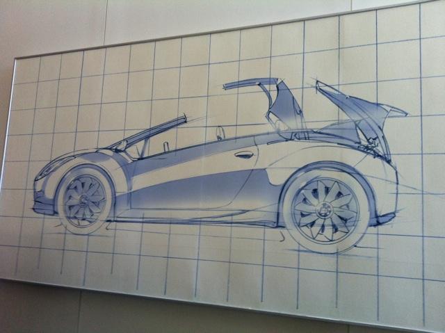 Kia's proposed halo roadster. Photo courtesy of PickupTrucks/Mike Levine.