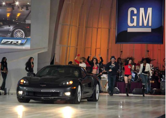 Kid Rock with 2009 Corvette ZR1