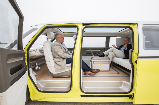 Vw Revives Its Iconic Microbus As A Self Driving Electric Van