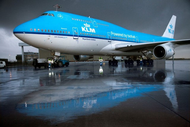 KLM biofuel-powered airliner (KLM)