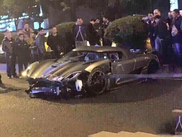 Koenigsegg Agera R crash - Image via Global Car Wanted