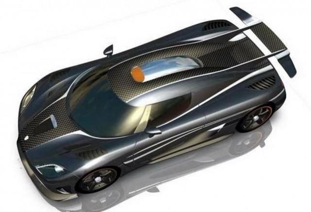 Koenigsegg One:1 official renderings