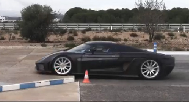 Koenigsegg Regera safety test