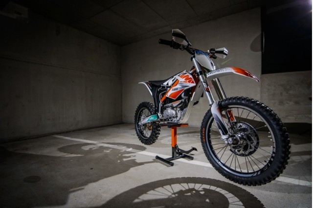 KTM Freeride E electric motorcycle