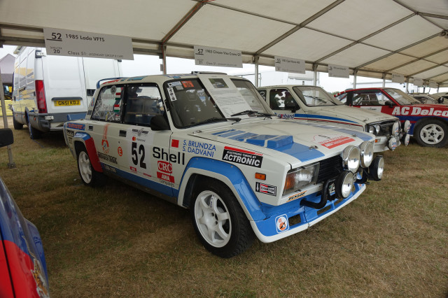 Lada VFTS rally car