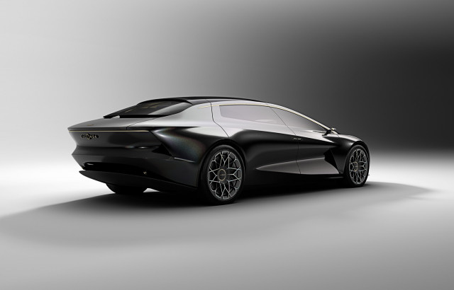 Aston Martin Lagonda Vision Concept Shows Electric Car Future For - Aston martin concept