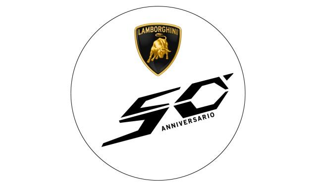 Lamborghini 50th Anniversary logo