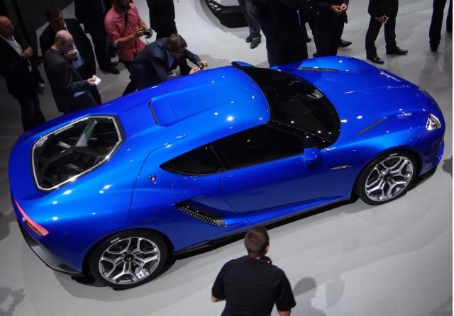 Lamborghini Asterion LPI 910-4 concept, 2014 Paris Auto Show