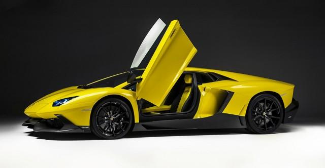 Lamborghini Aventador LP 720-4 50 Anniversario Edition