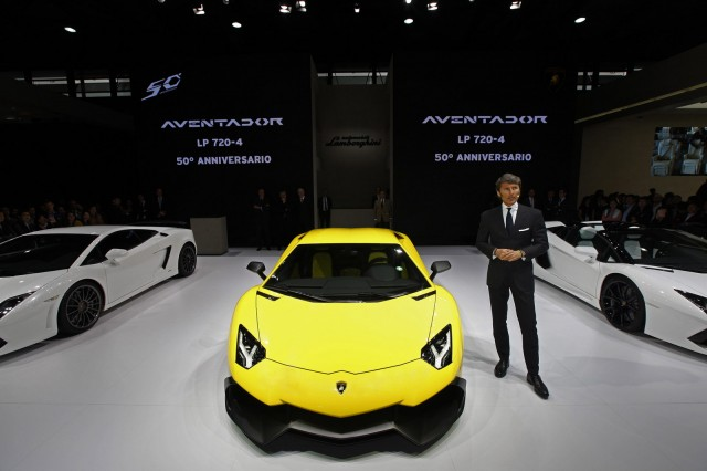 Lamborghini Aventador LP 720-4 50° Anniversario
