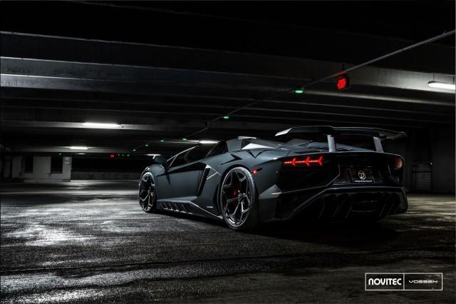 Novitec supercharges the Lamborghini Aventador SV, horsepower skyrockets