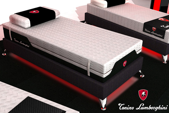 Lamborghini bed by Magniflex
