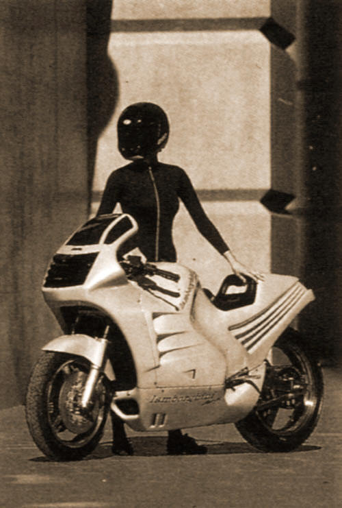 Blast From The Past The Lamborghini Motorbike