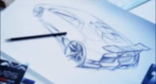 """Lamborghini """"Cabrera"""" teaser video"""