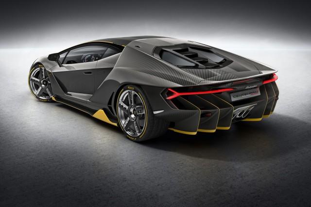 How The Lamborghini Centenario LP 770 4 Differs From Aventador